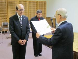 平成25年度表彰 椋木 福蔵
