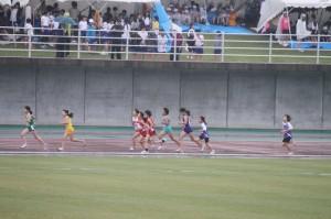 5年女子600m走スタート
