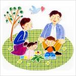 ■親と子の対話がつくるよい家庭